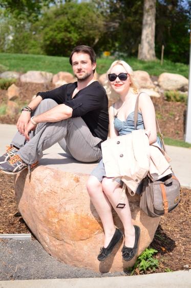 April and Derek